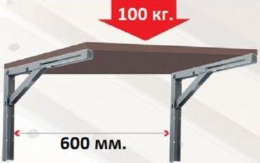 konsol-400-mm—chernaya-dlya-otkidnogo-stola-ili-polki-photo-d160